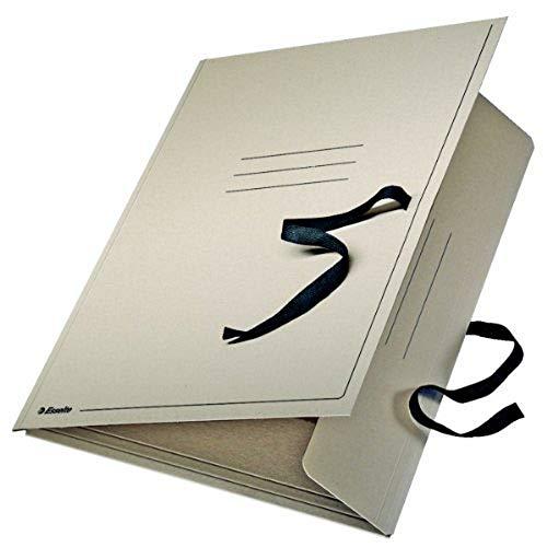 Esselte 623408 Zeichnungsmappe, A1, Karton, beige