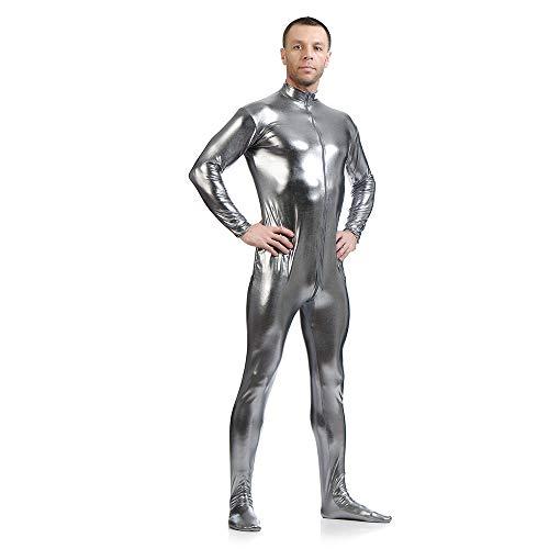 Crystally Segunda Piel Traje Ajustado al Cuerpo Disfraz Traje Disfraces Hombre Mujer - tamaño 145m-200cm