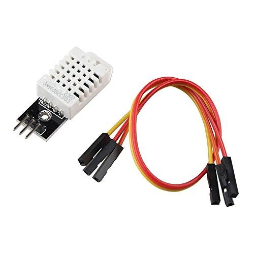HALJIA Módulo de sensor de humedad y temperatura digital de DHT22 AM2302 Compatible con Arduino, Raspberry, etc.