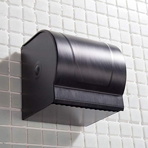 WTT toiletrolhouder startpagina eenvoudig eenkleurig badkamer toiletpapier handdoek opbergdoos papieren handdoekhouder (maat: B)