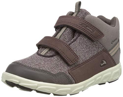 viking Rindal Mid GTX, Zapatillas para Caminar para Niñas, Plum Dusty Pink, 26 EU