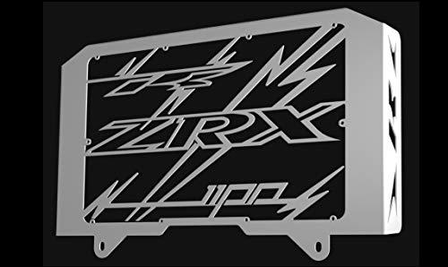 Kühlerverkleidung/Kühlerabdeckung polierten Edelstahl für 1100 ZRX 1998>2000 Design «Eclair»