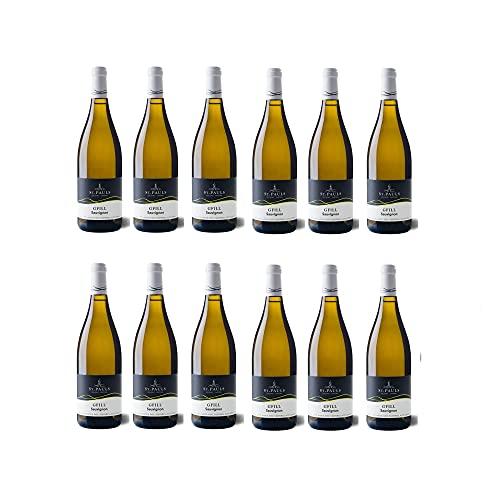 St. Pauls Gfill Sauvignon Blanc Adige DOC Südtiroler Weißwein Wein trocken (12 Flaschen)