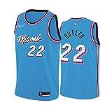WLLIT NBA Basketball Hoodie 22#, NBA Miami Heat Jimmy Butler # 22 Sportjacke Jacke Basketball Match...