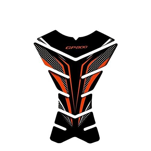 adesivo serbatoio carburante moto Per Gilera GP 800 GP800 Moto Paraserbatoio Moto Decal Gas Paraserbatoio Protector Moto Sticker Tankpad (Color : 19)