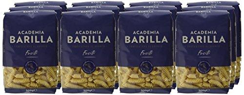Barilla Pasta Hartweizen Academia Fusilli – 12er Pack (12x500g) - 6
