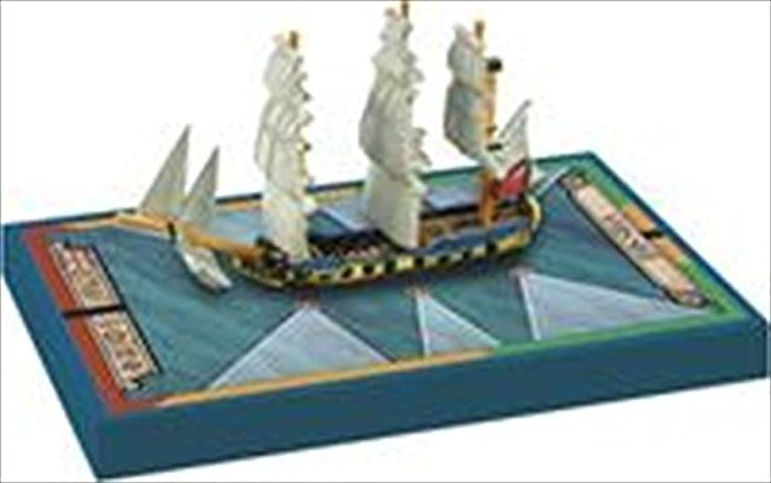Sails of Glory Napoleonic Wars Miniature  HMS Swan 1767 by Ares Games
