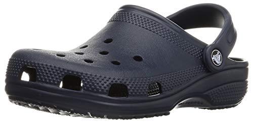 Crocs Classic Clog Kids Roomy fit Zuecos Unisex niños, Azul (Navy 410), 19/20 EU