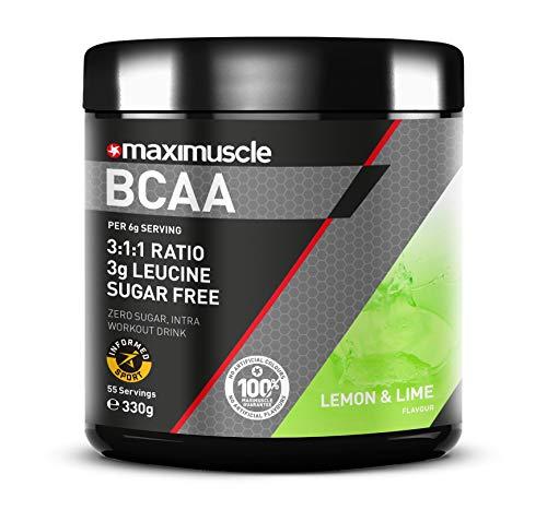 MAXIMUSCLE BCAA Powder Lemon & Lime Flavour, 330g