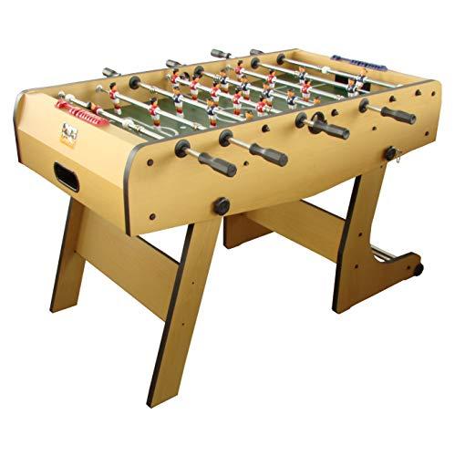 Arcade Jeux - Baby Foot Pliant - Baby-Foot Pliant - Fabrication de Haute qualité - 143x75x15 - HETRE-Noir
