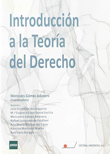Introducción a la Teoría del Derecho del Grado de Criminología