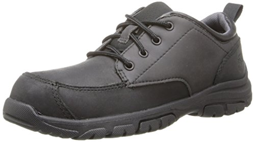 Timberland Discovery Pass Plain Toe Oxford (Toddler/Little Kid/Big Kid),Black,4 M US Toddler