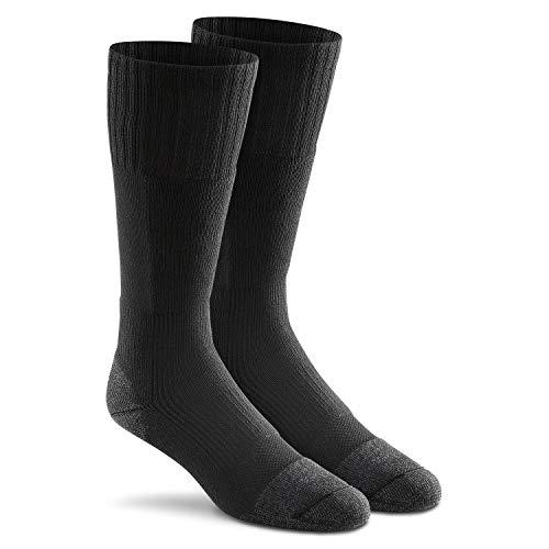 Fox River Military Wick Dry Maximum Mid Calf Boot Sock, Black, Large