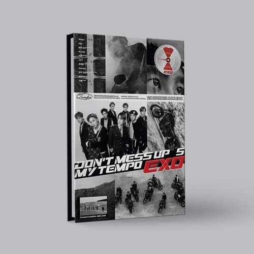 SM Entertainment EXO - Don't Mess UP My Tempo [Allegro ver.] (Vol.5) CD+Booklet+Photocard+Pre-Order Benefit+Folded Poster+Extra Photocards Set