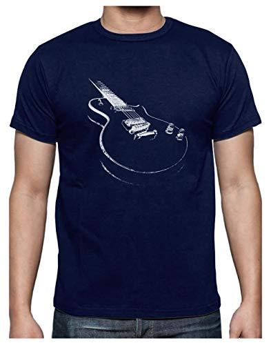 Camiseta para Hombre - Camisetas Guitarra Electrica Camisetas Hombre Rock -...