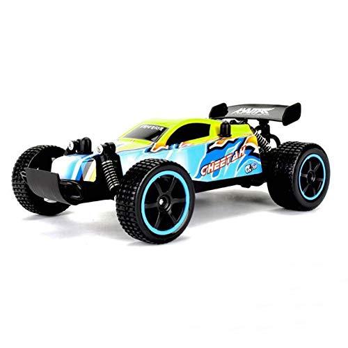 WAQB XL Coche de Control Remoto, vehículo Todoterreno de aleación de Aluminio 1:20, Juguete eléctrico de Alta Velocidad para niños Monster Racing Hobby, Adecuado para Adolescentes,Amarillo