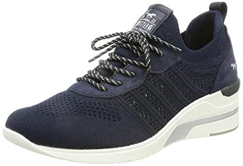MUSTANG Damen 1378-301 Sneaker, Navy, 42 EU