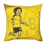 Borussia Dortmund BVB-Kissen Axel Witsel (40x40cm) one Size