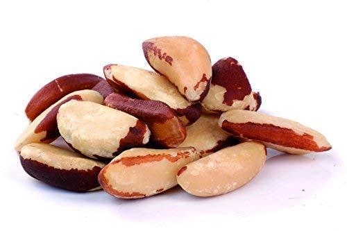 Nueces de Brasil BIO 1 kg biológicos crudos, silvestres, sin cáscara ecológicos raw 1000 gr Brazil nuts