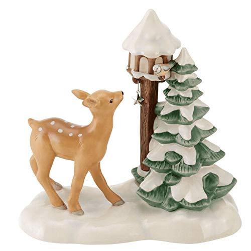 Goebel - Figura decorativa (20 cm), diseño de árbol de Nav