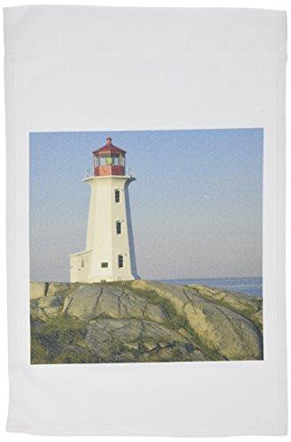 3dRose FL 72942_ 1Garten Flagge, 12von 18, Leuchtturm, Peggy 's Cove, Nova scotia-cn07krs0011-keith und Rebecca Snell
