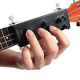 allenatore di accordi per ukulele, strumenti per l'apprendimento assistito con accordi di chitarra con 8 accordi per l'insegnamento della pratica ausilio