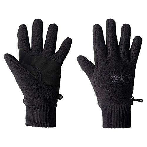 Jack Wolfskin Kinder Vertigo Glove Handschuhe, Black, S
