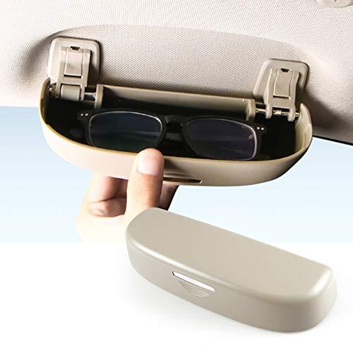SKTU Funda para gafas de sol Lexus ES/Lexus NX/Lexus RX/Lexus UX, color beige