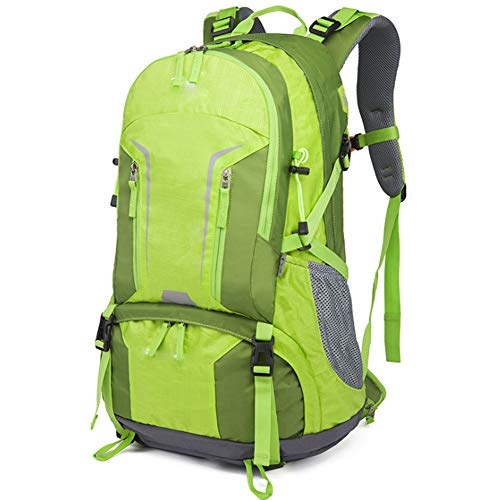 Outdoor Backpack Large Capacity Mountaineering Bag Men And Women Leisure Outdoor Camping Bag Fashion Backpack,green