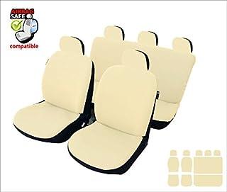 color negro y beige CSC303S Juego de fundas para asiento de coche