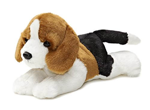 "Aurora - Mini Flopsie - 8"" Homer (Beagle), Brown/White/Black"