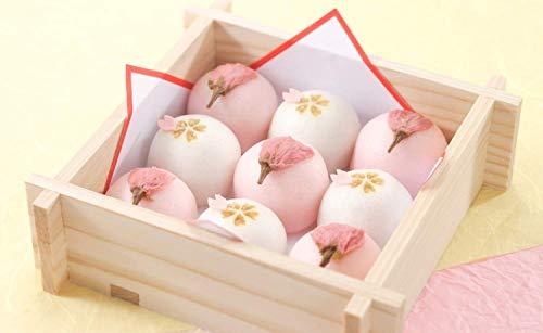 春ギフト和菓子 桜 春の和菓子 桜饅頭(紅白まんじゅう)お祝い 内祝いにも 卒業 入学 入社 退社 お花見