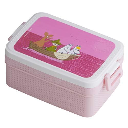 Rätt Start 6112 Brotdose/Lunchbox Mumin, rosa, mehrfarbig, 185.4 g