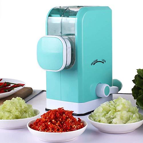 GOHHK Picadora Carne Manual con Cuchillas Acero Inoxidable, Potente Base succión, embutidora Salchicha picadora Cocina doméstica para Cocina doméstica rápida y sin Esfuerzo