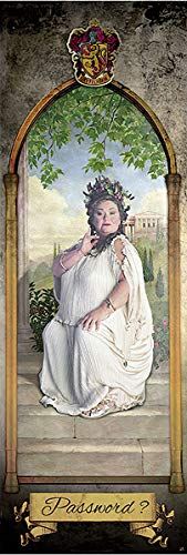 Harry Potter - Door Movie Poster Print (House Gryffindor - The Fat Lady - Password) (Size: 21 inches x 62 inches)