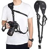 Zacro Kamera Tragegurt Schultergurt mit Handgelenk Schlaufe für Kamera DSLR SLR und Kompaktkameras