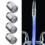 LED Wasserhahn Mini Leuchtend Licht 1-Farbwechsel...