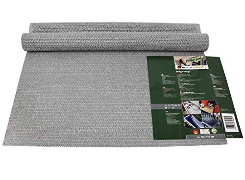 prima-preise Mega-Stop Anti-Rutsch Matte 50x150cm Schubladeneinlage für Küche Wohnmobil (Grau)