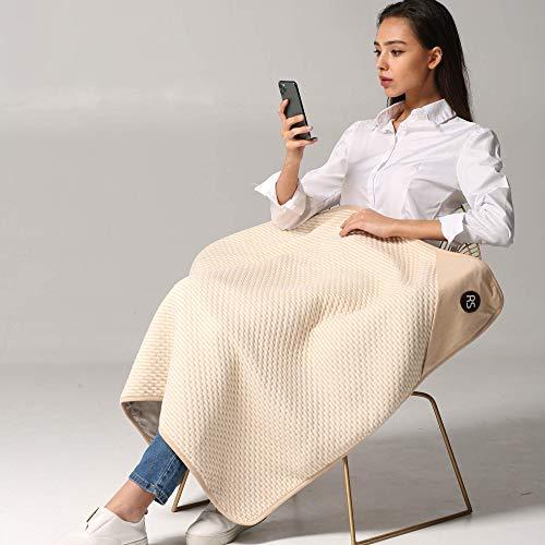 Radia Smart Large Protective Belly Pregnancy Baby Blanket, Organic, 5G Anti-Radiation, EMF Blanket, 43'x35', 110cmx90cm