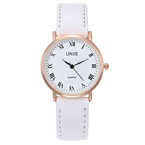 Relojes De Las Mujeres Reloj Del Negocio De La Manera Simple Romana Báscula De Cinta Reloj De Los Pares Hombres De La Moda Casual Elegante Reloj De Las Mujeres Muchachas De Las SeñOras Relojes