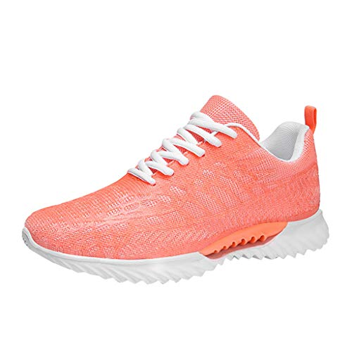 New Couple Mesh Running Shoes | Women&Men Breathable Lightweight Non-Slip Running Shoes Sports Walki...