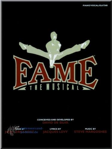 Fame The Musical - Libro de canciones para piano, voz y guitarra