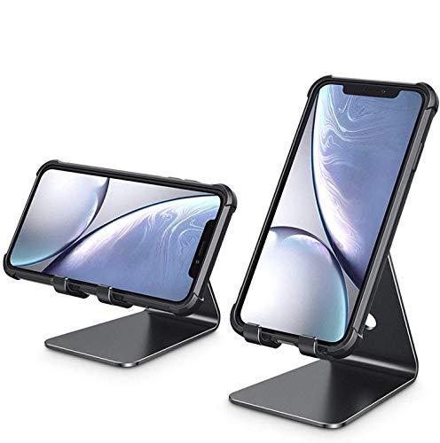 携帯卓上スタンド新しい2020 スマホスタンドホルダー 270°角度調整,横, 縦, スマホスタンドアルミ製 携帯スタンド,卓上 充電スタンド, タブレット置き台, デスク台 ,iPad/タブレット/iPhone スタンド ,Sehrgutjp卓上縦置きス
