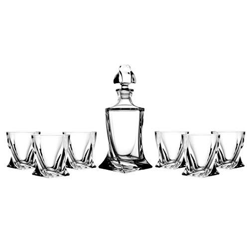 la galaica Set di 6 Bicchieri Bassi in Cristallo - per Whisky o...