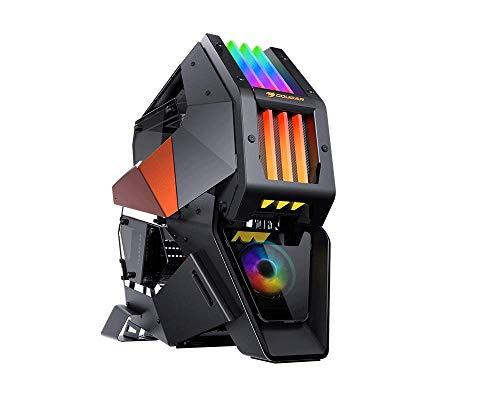 COUGAR ゲーミングPCケース CONQUER 2 組み立て式ケース 金属フレーム サブシャーシ設計 RGB照明 【国内正...