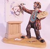 Emmett Kelly Clown Figurine Original Circus Collection #EK-617 Self Portrait