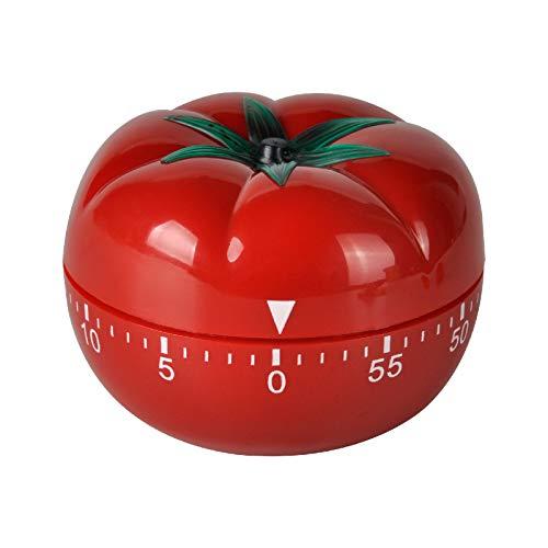 Jayron JR-WG017 Temporizador de Cocina para Cocinar Tomate Dibujos Animados Mecánico Contador de Horas para Cocinar
