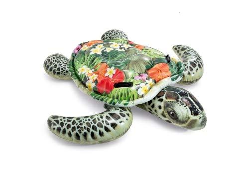 Intex–aufblasbares Tier realistisch + 2Griffe Schildkröte