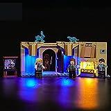 Kit De Iluminación Led para Lego Harry Potter Sala De Los Menesteres De Hogwarts, Compatible con Ladrillos De Construcción Lego Modelo 75966 (Juego De Legos No Incluido)