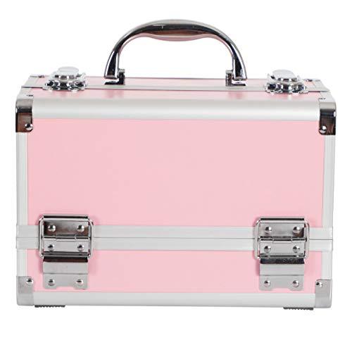 FSSQYLLX Boîte de Maquillage Artiste Professionnel Cas de beauté Sac de Maquillage Sac de Rangement Multicouche boîte à Outils